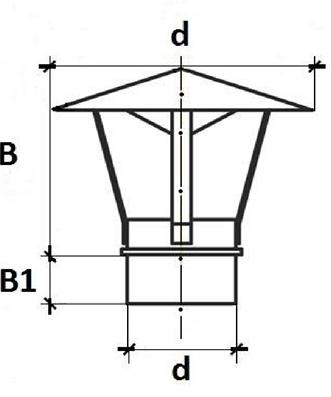 Зонт для дымохода своими руками 59